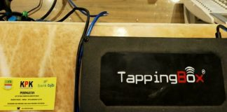 tapping box
